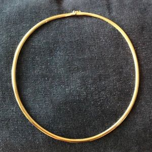 Jewelry - 14K Gold 16 inch Omega Necklace 19 grams 4mm